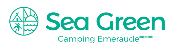logo camping emeraude sea green