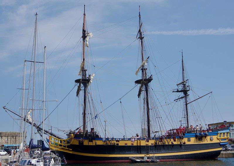navire étoile du Roy à saint malo