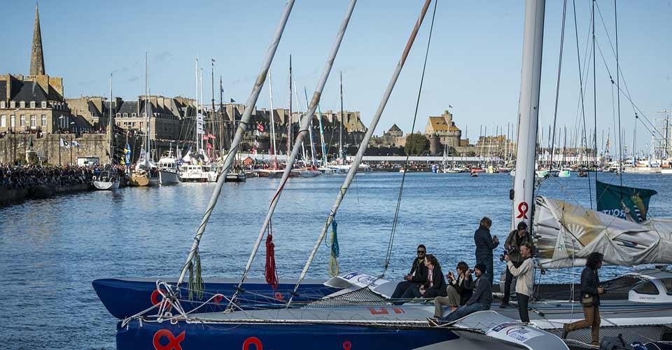 la route du Rhum départ Saint Malo
